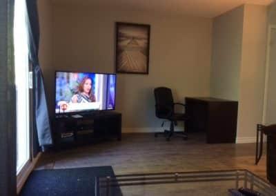 Pickle Lake - Living room